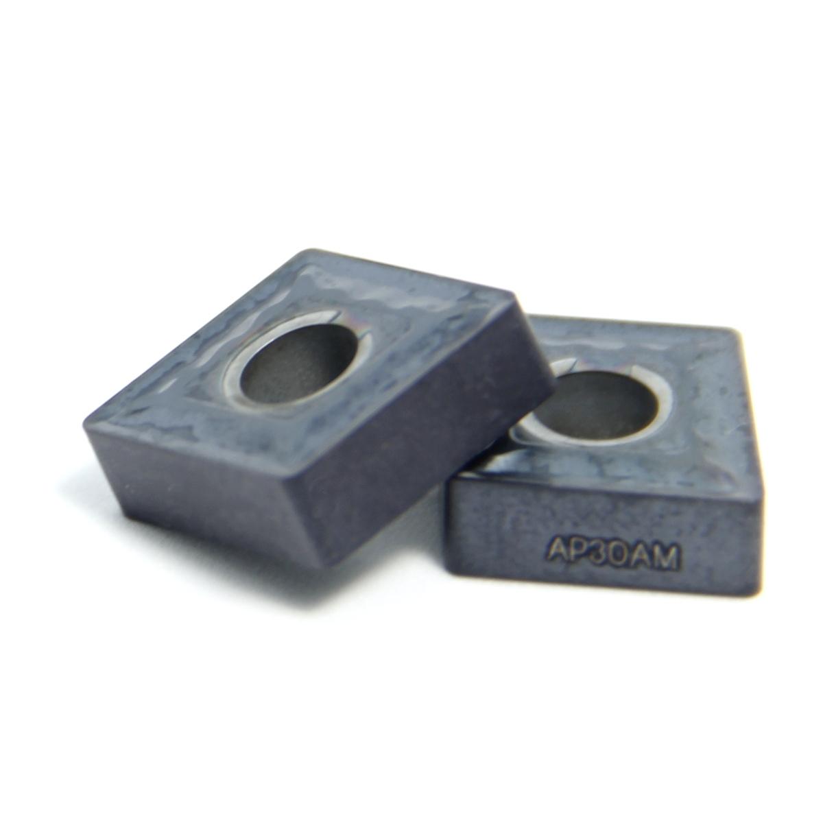 Твердосплавная пластина для токарной обработки CNMG 120412